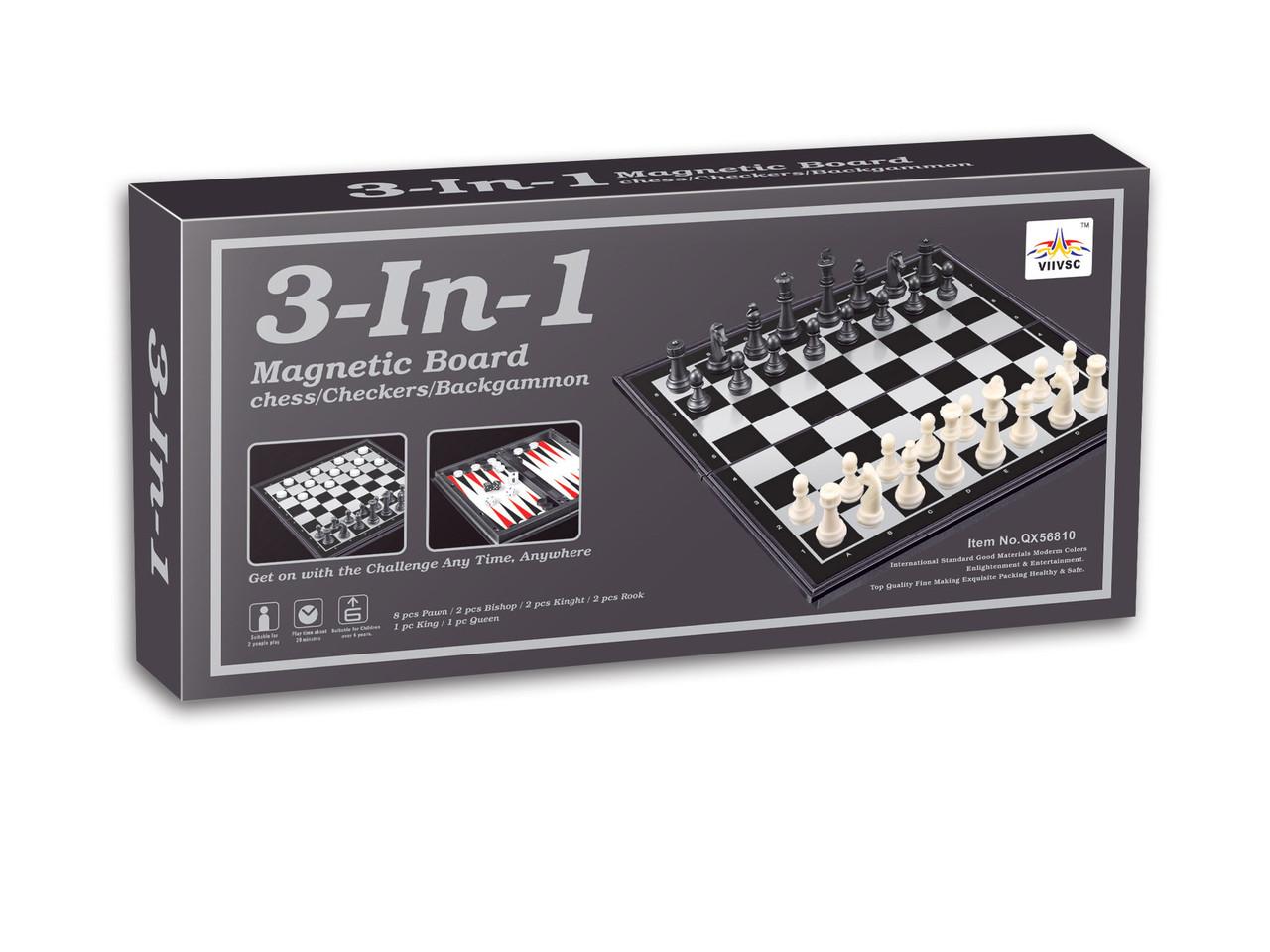 Магнитные шахматы, нарды, шашки
