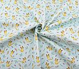 Набор ткани для рукоделия  с цветочным принтом - 8 отрезов 40*50 см, фото 6