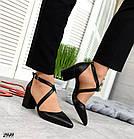 Женские туфли черные, натуральная кожа (в наличии и под заказ 3-14 дней), фото 5