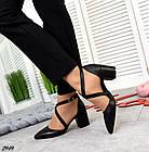 Женские туфли черные, натуральная кожа (в наличии и под заказ 3-14 дней), фото 2