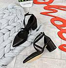 Женские туфли черные, натуральная кожа (в наличии и под заказ 3-14 дней), фото 3