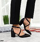 Женские туфли черные, натуральная кожа (в наличии и под заказ 3-14 дней), фото 6