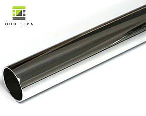 Нержавеющая труба круглая 16 мм 12Х18Н10Т пищевая, аналог aisi 321H матовая, полированная, фото 3