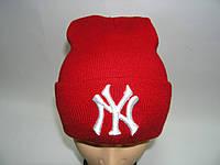 Шапка NY красная