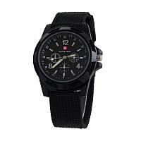 Мужские часы Swiss Army Чёрные (46369)