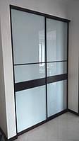 Шкаф купе с фасадом пленкой оракал под заказ, фото 1