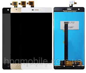 Дисплей для Nomi i506 Shine, модуль в сборе (экран и сенсор), оригинал