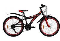 """Велосипед VNC MontEagle 24"""" 2417-32-BR 12.5"""" Черный с красным (19241202)"""