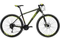 """Велосипед Lombardo SESTRIERE 500 U 29"""" 19"""" Черный с желтым (ML29500U(A046;19;17)"""
