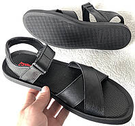 Шок! Levis летние кожаные сандалии мужские босоножки в стиле Левис босоножки