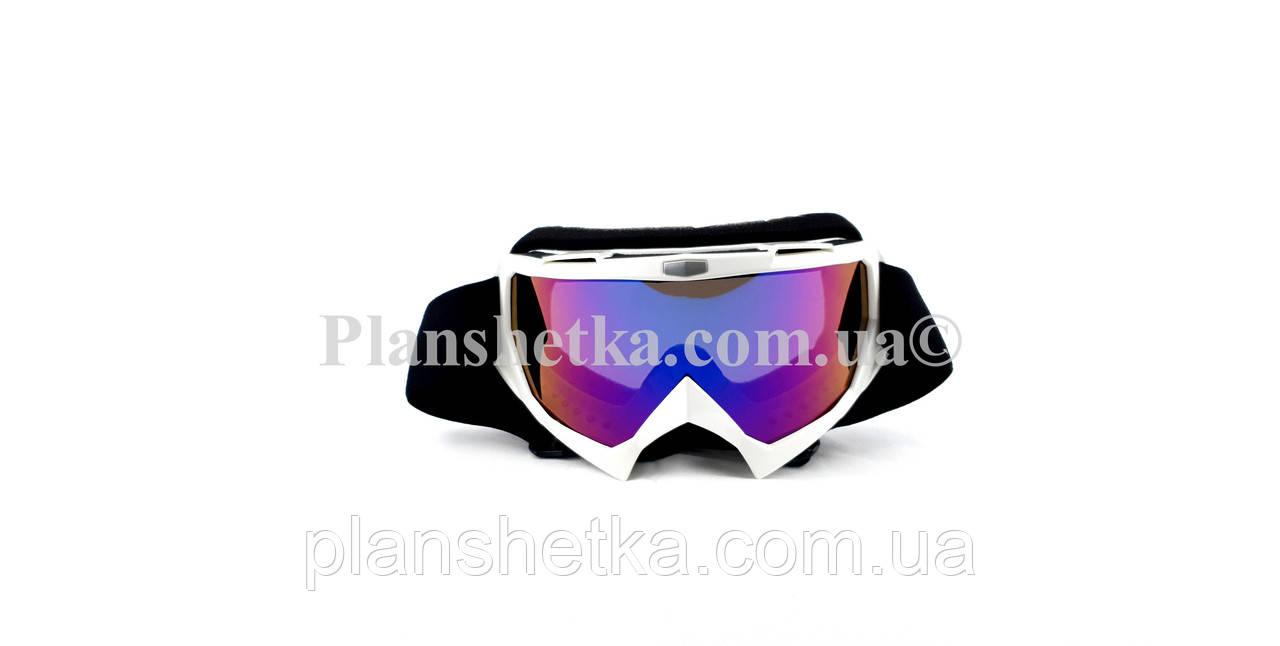 Кросові окуляри 634 motokross білі