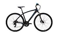 """Велосипед Lombardo AMANTEA 200 U 28"""" 20"""" Черный с синим (TL28AAU.N(B010;20;17)"""