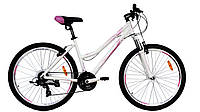 """Велосипед VNC 26"""" Lotus 26LT-36-WP 14"""" Белый с розовым (19755236)"""