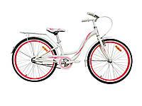 "Велосипед VNC Emily AC 24 2419-FA-WP 11"" Белый с розовым (19241903)"