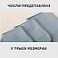 Силиконовые чехлы-бахилы от дождя и грязи на обувь водонепроницаемые M (размер 36-40) цвет серый, фото 3