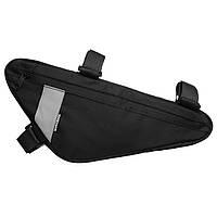Велосумка під раму Sahoo 122004 Triangle Bag 1,5L Black (6920636791100)