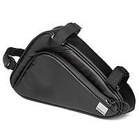 Велосумка під раму Sahoo 122065 Frame Bag 1,5L Black (6920636792916)