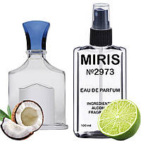 Духи MIRIS №2973 (аромат похож на Creed Virgin Island Water) Унисекс 100 ml