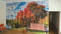 Фото Шторы в Детский сад. Тема Осень. Материал Блэкаут. Сшиты полотна