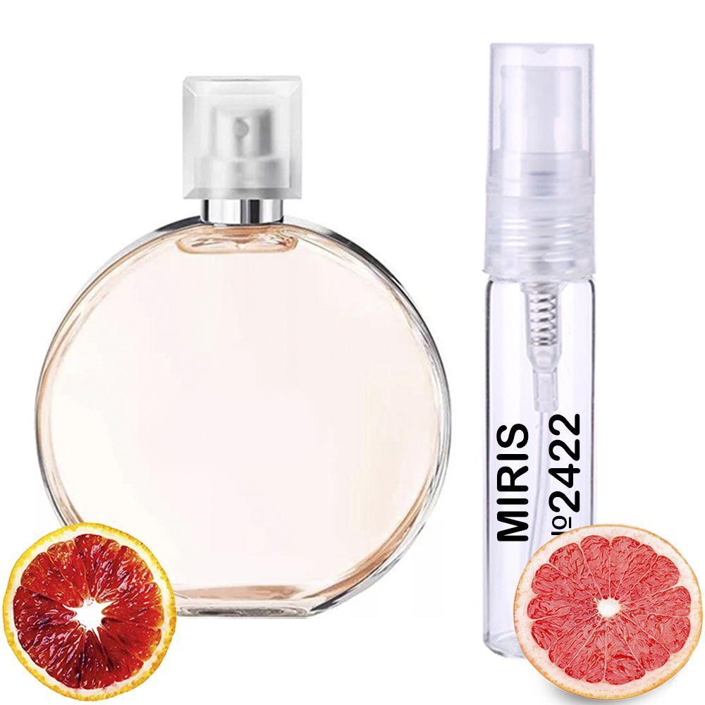 Пробник Духов MIRIS №2422 (аромат похож на Chanel Chance Eau Vive) Женский 3 ml