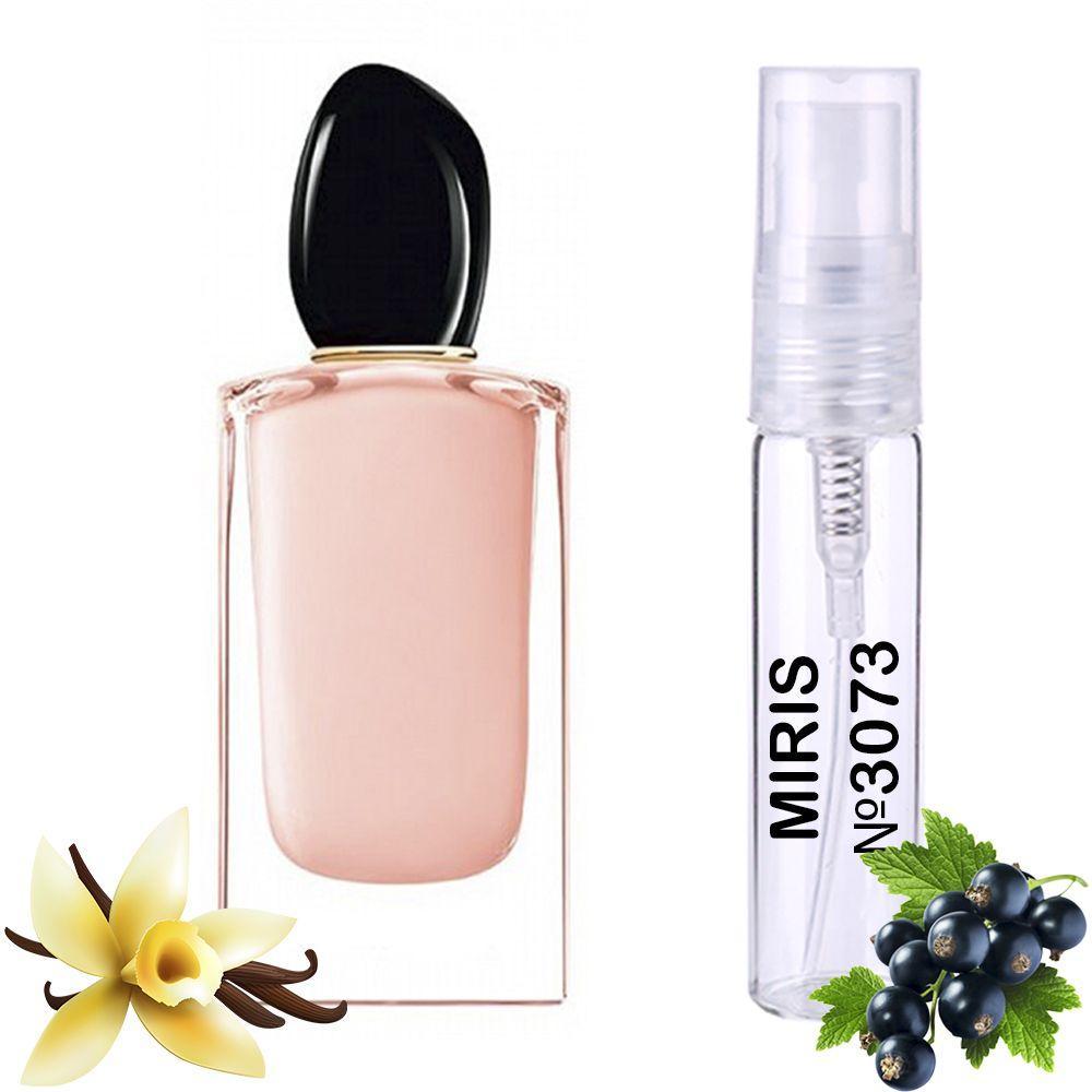 Пробник Духів MIRIS №3073 (аромат схожий на Armani Si Fiori) Жіночий 3 ml
