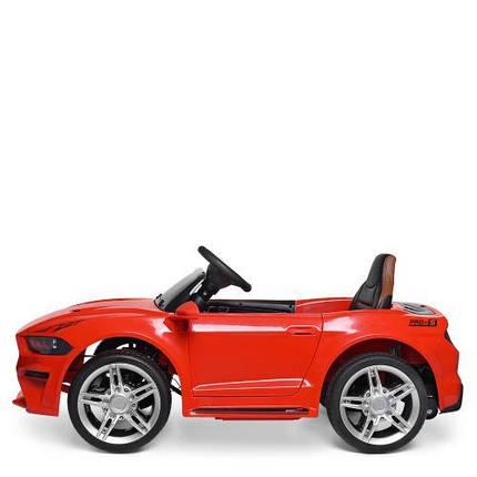 Электромобиль детский красный Bambi Ford Mustang GT M 3632EBLR-3 от 3 до 8 лет, фото 2