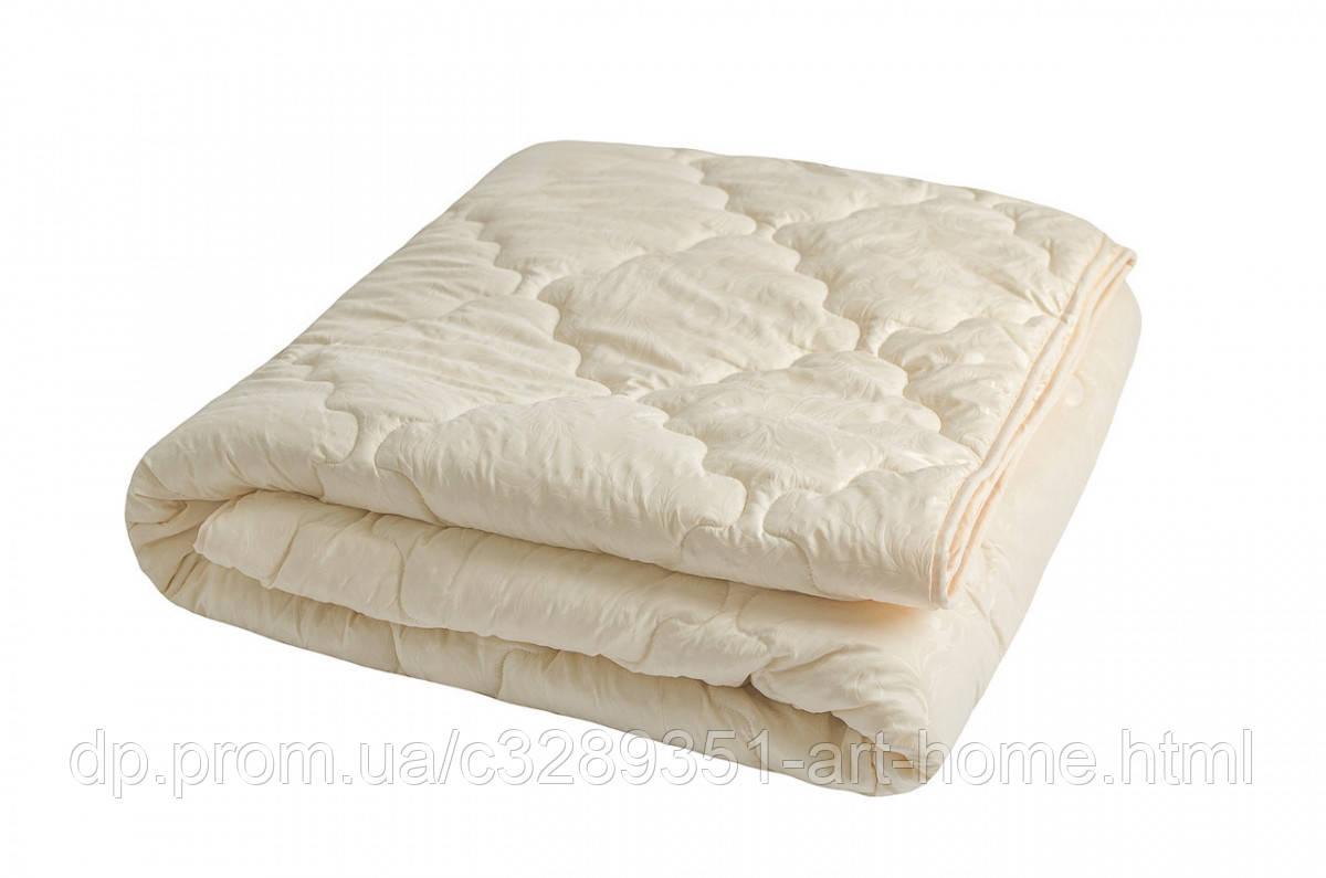 Одеяло закрытое однотонное холлофайбер (Микрофибра) Двуспальное T-44811