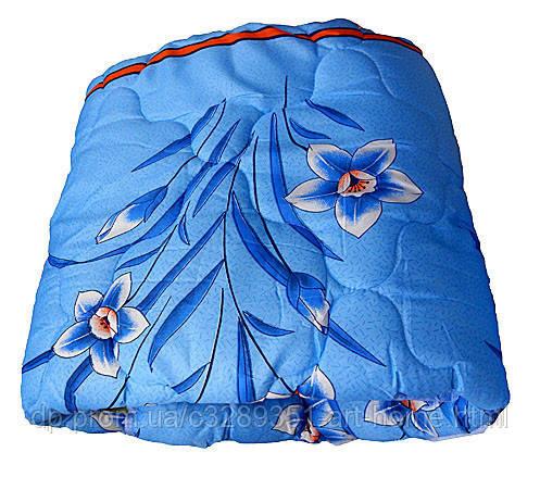 Одеяло летнее холлофайбер одинарное (поликоттон) Двуспальное T-51170