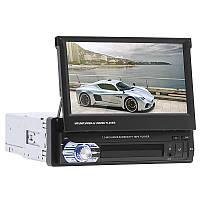 Автомагнитола 7'' Lesko 9601G 1 DIN GPS навигатор автоматически выдвижной экран на WinCE сенсорный