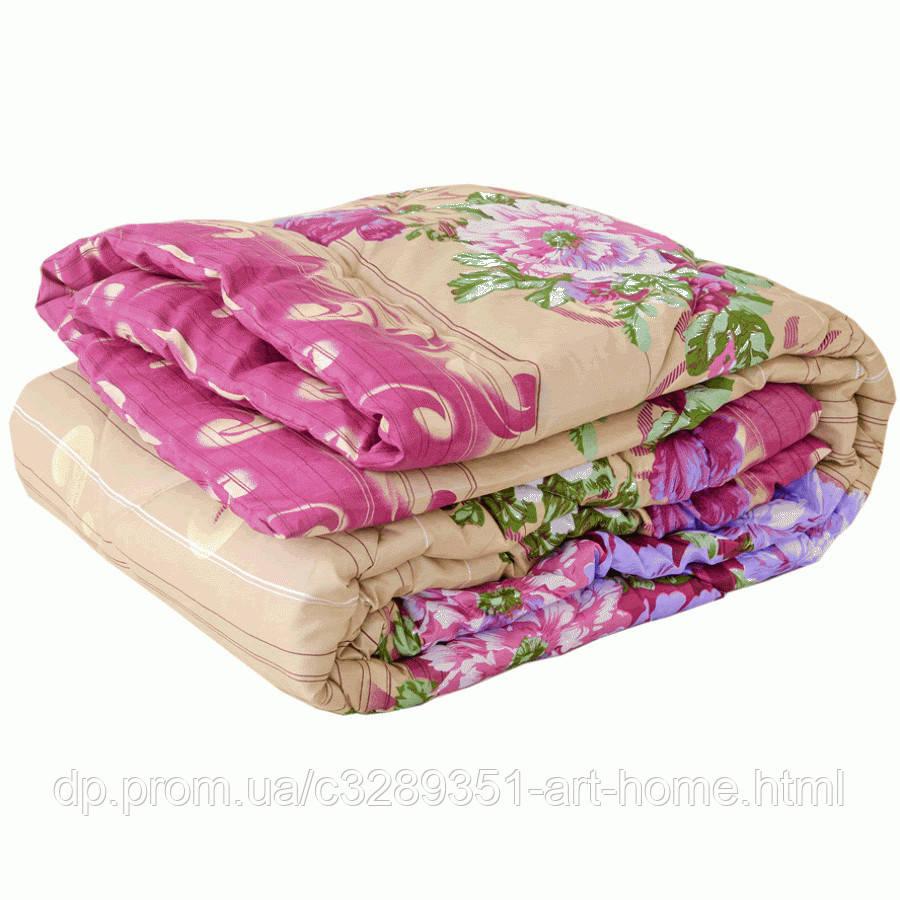 Одеяло летнее холлофайбер одинарное (поликоттон) Полуторное T-51177