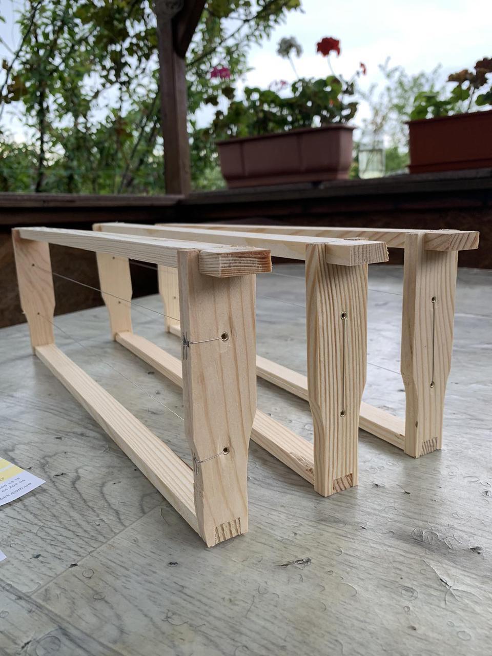 Рамка для ульев 145 мм  (полурамка в сборе)