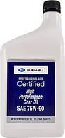 Масло Subaru Gear Oil 75W-90 кан. 0,946л SOA427V1700