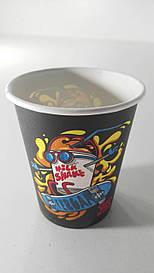 Стакан  бумажный 175мл Crazy Milk Shake Маэстро (50 шт)