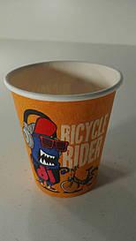 Стакан  бумажный 175мл Ricycle RIDER Маэстро (50 шт)