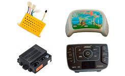 Аппаратура управления детских электромобилей - пульты, контроллеры, панели запуска и другие запчасти