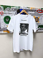 Футболка oversize so.Kass x Onewillian T-shirt Chalamet Roses Blances