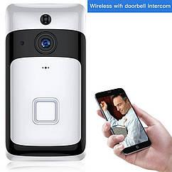Беспроводной IP Wi Fi видео домофон SDETER.с аккумулятором. Onecam
