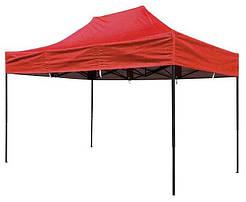 Раздвижной шатер Люкс красный 400х270