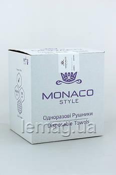 Monaco Style Полотенца 40 х 70, спанлейс, ГЛАДКИЕ,  50 шт