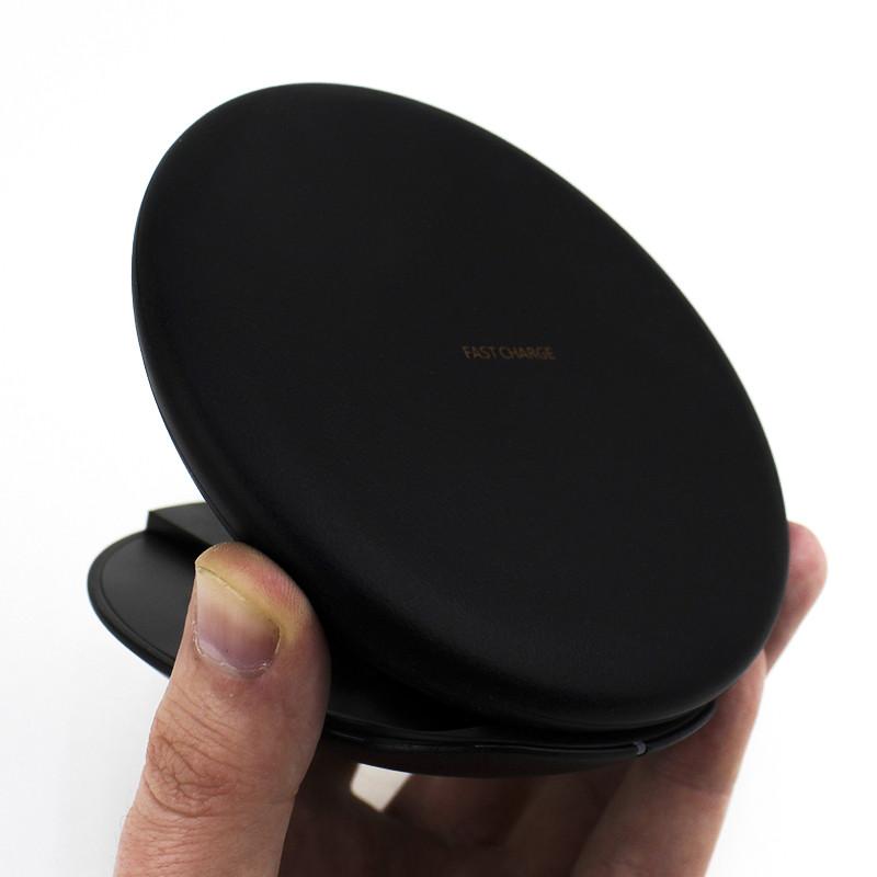 Беспроводная заряда JETIX S8 Fast Charge Black (для смартфонов)