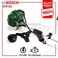 """Мощная мотокоса Bosch GTR 52 (5.2 кВт, 2х тактный) Комплектация """"Стандарт"""". Бензокоса Бош, кусторез, триммер"""
