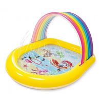 Детский надувной бассейн Intex 57156 Радуга, фото 1