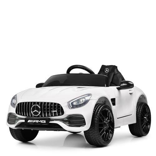 Электромобиль детский Bambi Mercedes M 4062EBLR-1 оснащён ручным и дистанционным управлением