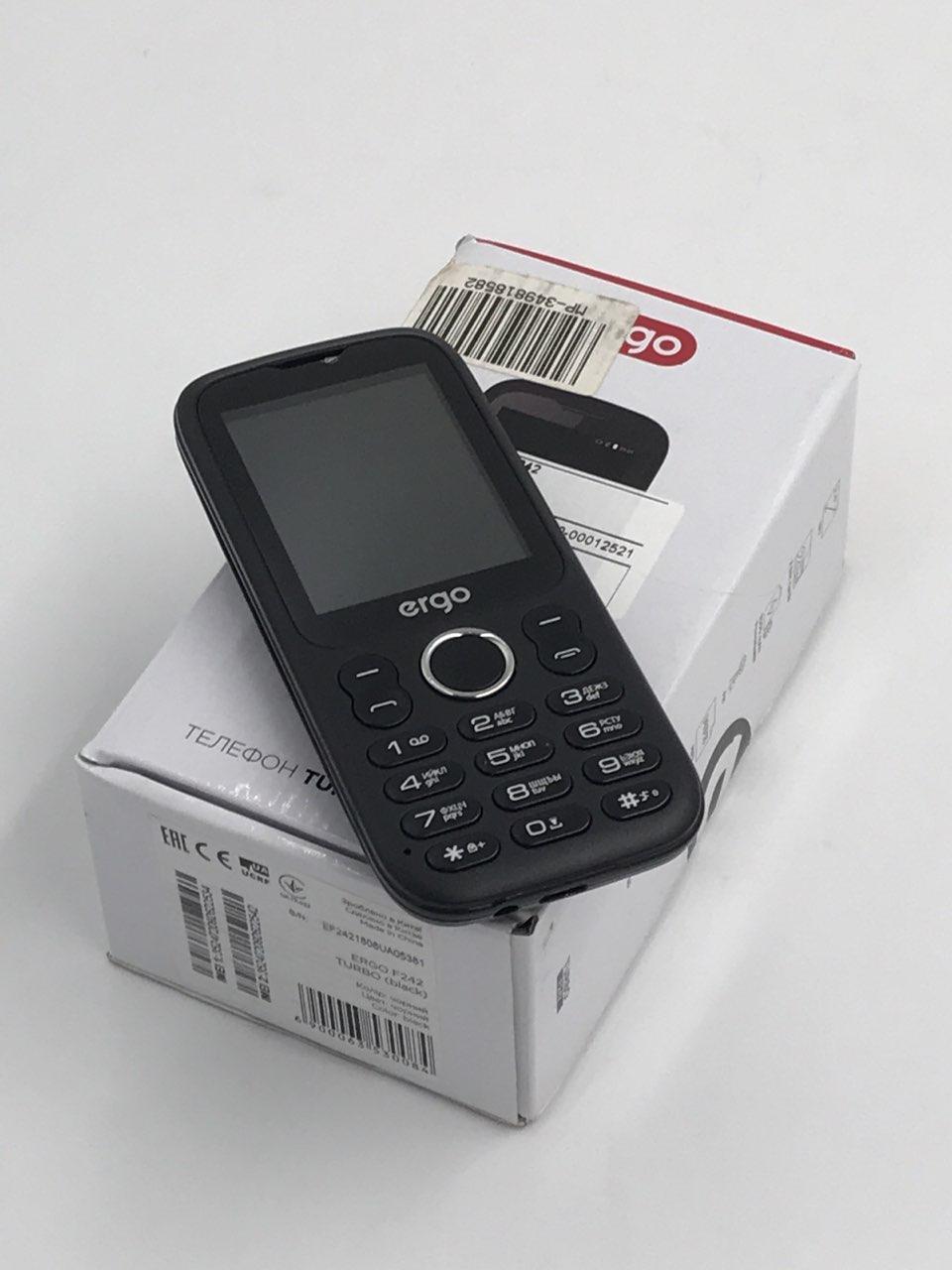 Телефон Ergo F242