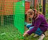 Сітка вольерная для птахів чорна 12х14мм рулон 1м x 50м, фото 7