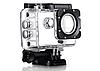 Экшн камера A7 FullHD + аквабокс + Регистратор Полный компект+крепление шлем ЧЕРНАЯ, фото 6