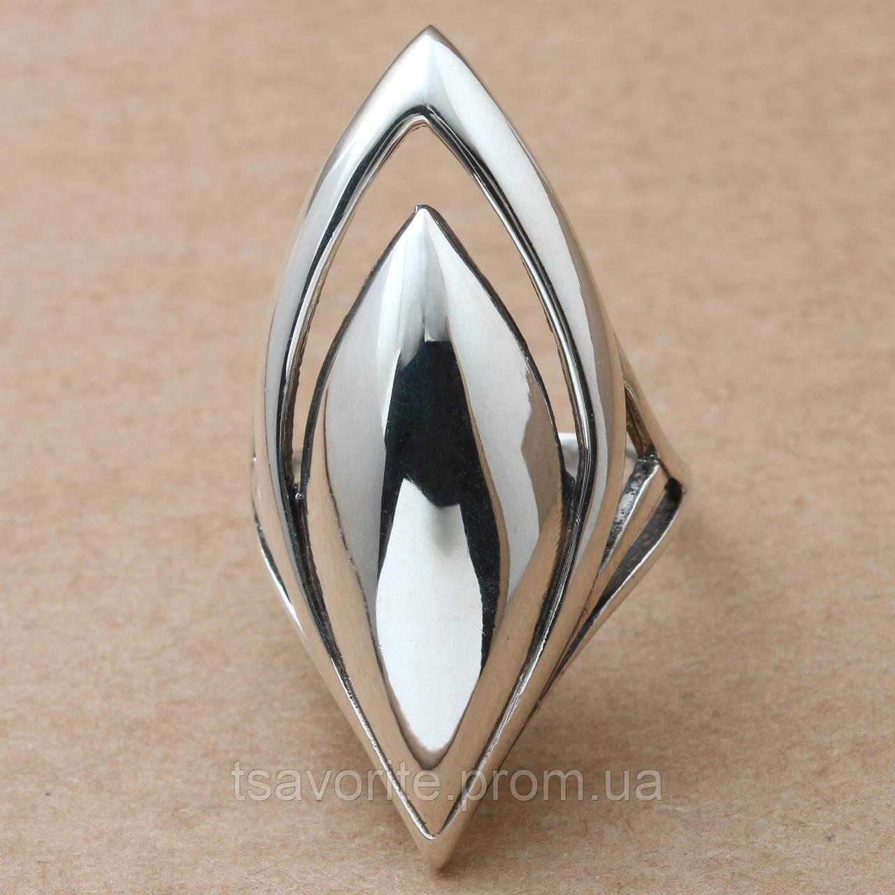Серебряное кольцо 14КЮ