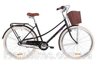 """Велосипед Dorozhnik - Comfort Female (планет) (2020) (28""""/700c-19.5"""") Чёрный"""