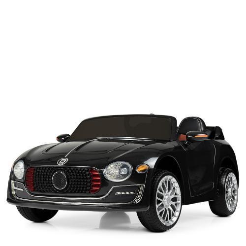 Стильная детская машина Bambi M 4109EBLR-2 черный электромобиль