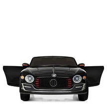 Стильная детская машина Bambi M 4109EBLR-2 черный электромобиль, фото 2